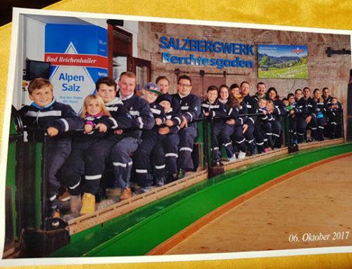 Glückauf! Steuerkanzlei Gabriel & Kollegen im Salzbergwerk in Berchtesgaden